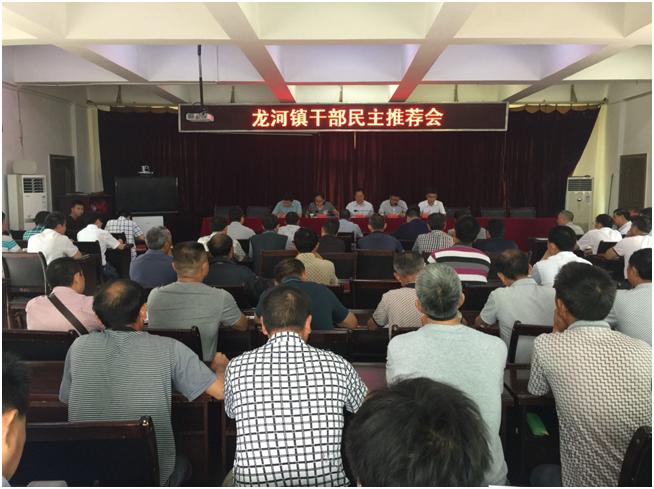 丰都县委组织部到龙河镇开展县管领导干部民主考察