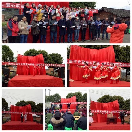 重庆涪陵志愿者携爱心企业 情暖老年公寓老人