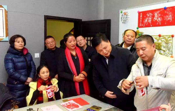 重庆市委宣传部副部长张洪斌调研涪州书院