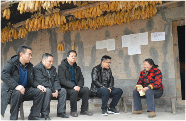 丰都县龙河镇开展春节前夕走访慰问贫困户活动