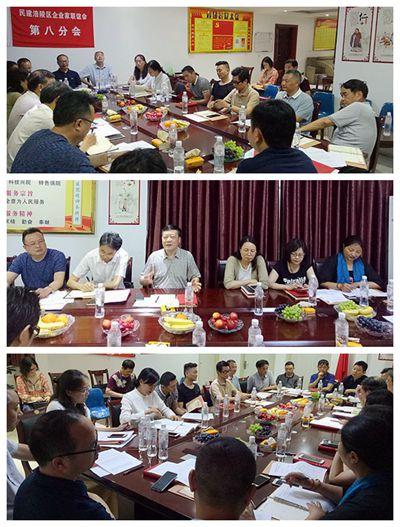 民建涪陵区企业家联谊会第八分会成立暨首次会议召开