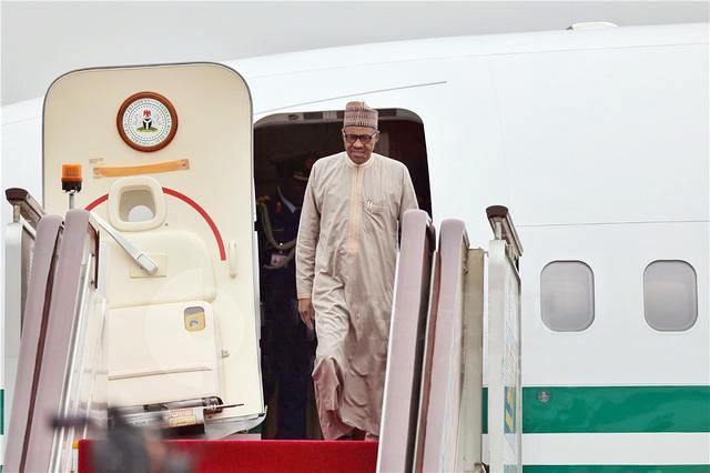 尼日利亚总统布哈里来京出席中非合作论坛,总统及夫人获赠景泰蓝《景泰六福》